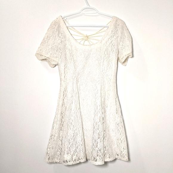 Vittorio Virini Vintage White Dress